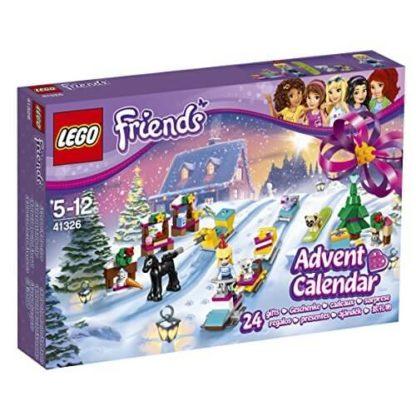 Calendrier Avent Lego City.Lego Friends Noel Figurines Calendrier De L Avent Lego